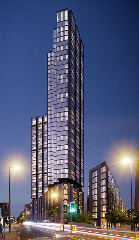 Foster's London towers 03