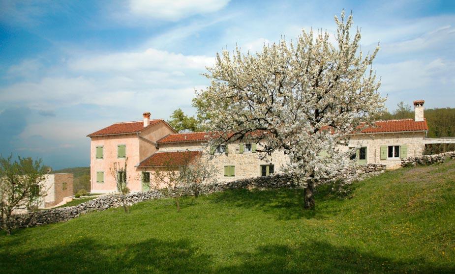 Od trošne kuće do velelepnog zdanja u Istri