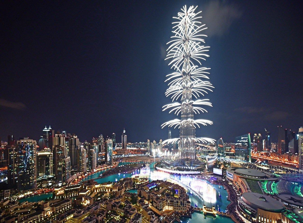 Najveća LED fasada na svetu u Dubaiju za doček 2015. godine