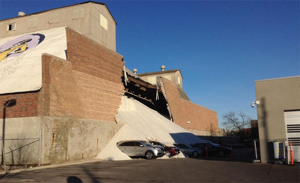 Opeka nije izdržala: Srušio se zid solane