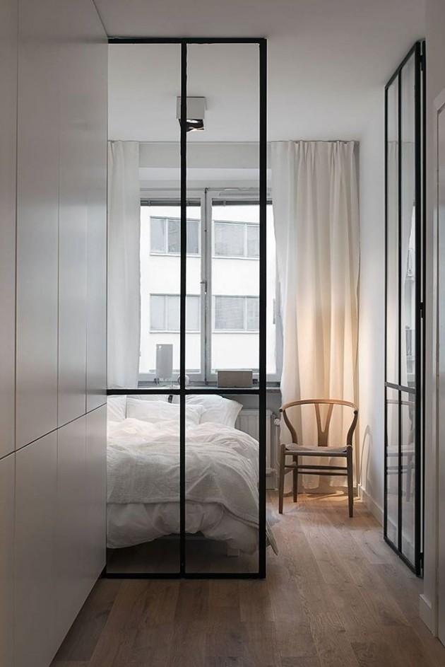 spavaca soba u malom stanu