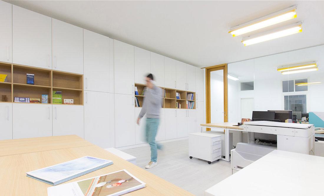 Kako je krojačka radnja pretvorena u kancelarijski prostor