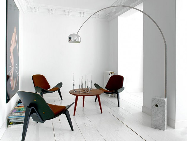 Arco lamp by Castiglioni brothers