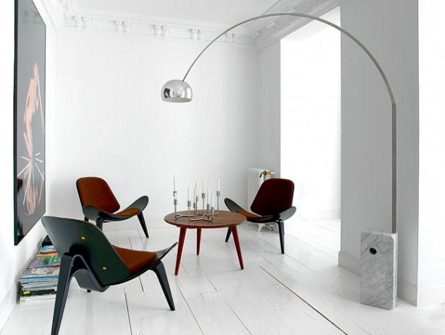 Arco lamp by Castiglioni brothers