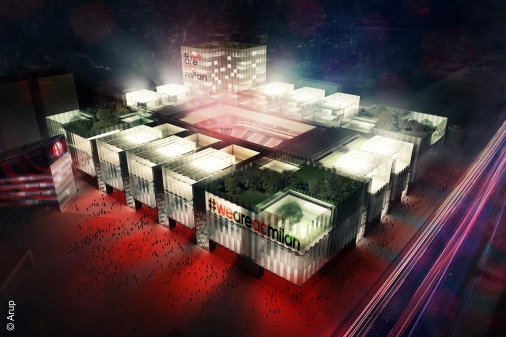 Novi ekološki stadion za fudbalski klub Milan