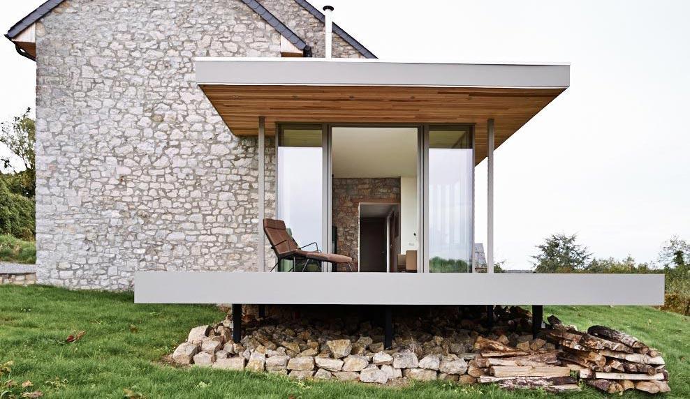 Spoj rustičnog i modernog: Adaptacija stare kuće u Belgiji