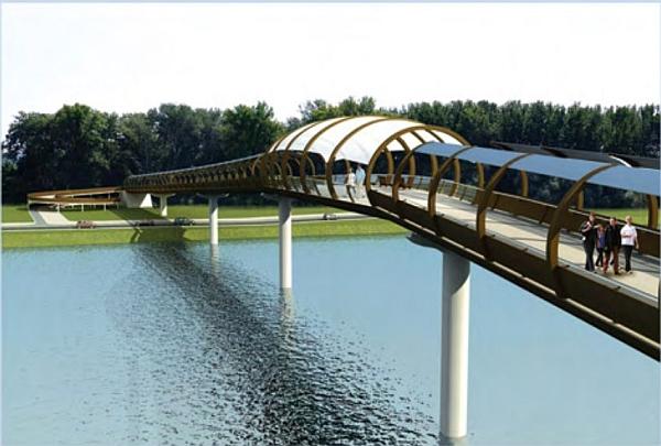 Gradi se most do Ribarskog ostrva u Novom Sadu