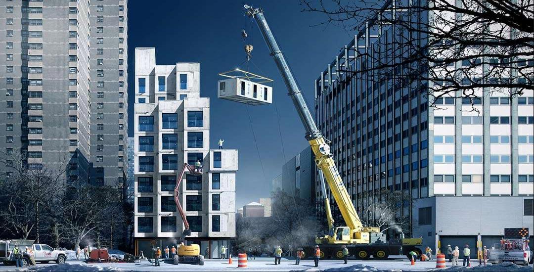 Kao Lego kockice: Niču prefabrikovani stanovi u Njujorku