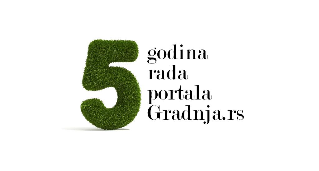 Pet godina portala Gradnja.rs! Hvala vam što ste s nama