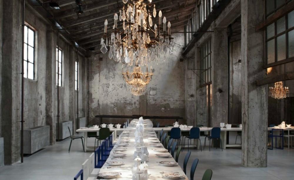 Spoj elegancije i industrijskog stila u novom milanskom restoranu