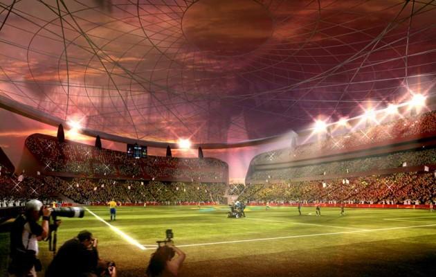 Qatar 2022 Reveals Iconic Lusail Stadum