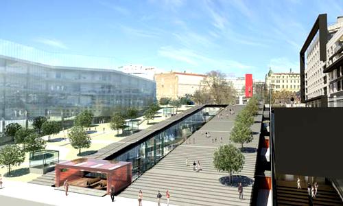 Terazijska terasa: Pogledajte kako će izgledati novi trg u Beogradu