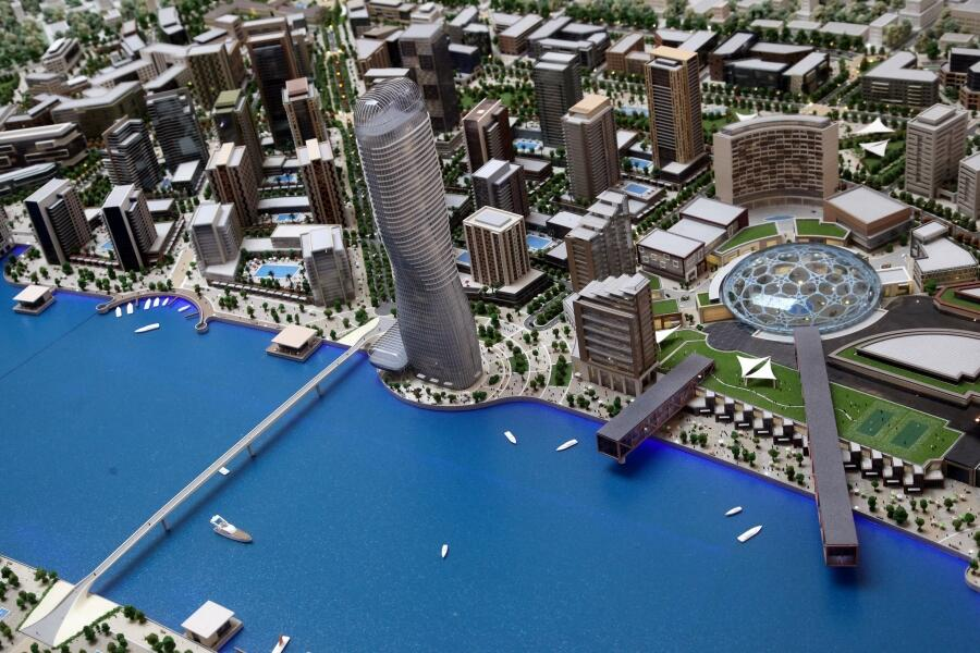 Najmanje 3.000 evra za kvadrat Beograda na vodi