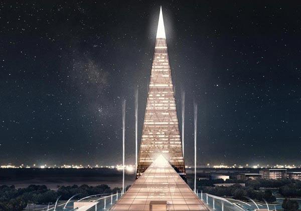 Egipćani prave novu piramidu! Ovog puta od stakla visine 200 metara