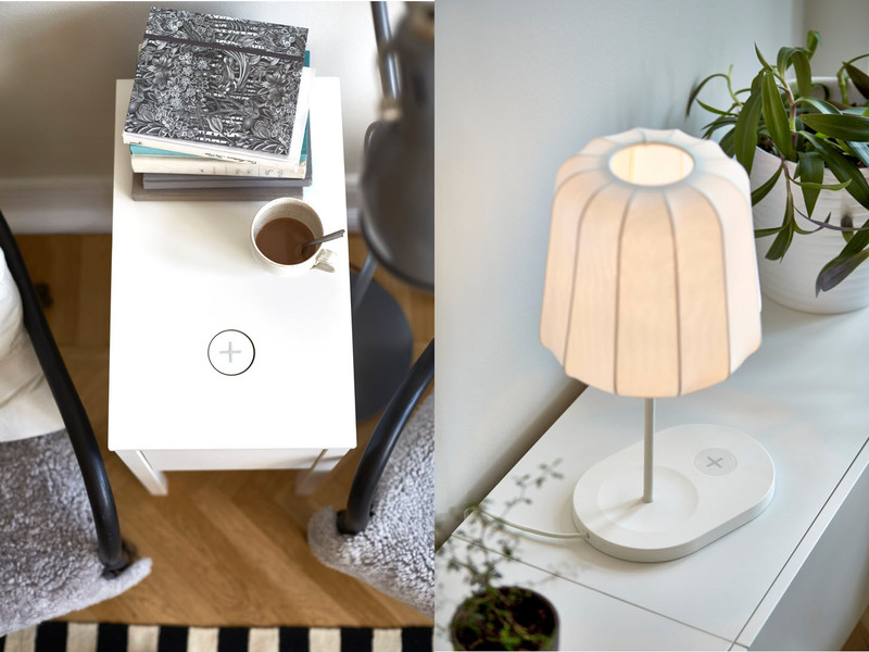 Ikea lansira nameštaj i rasvetu s bežičnim punjačima