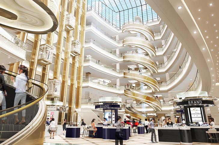 Najveći spiralni eskalator napravljen u Šangaju