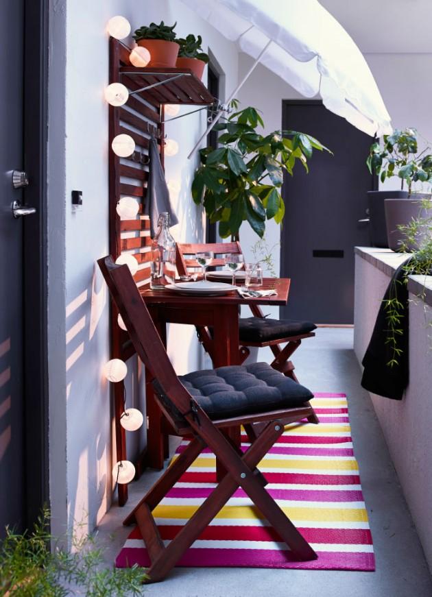 uredjenje male terase