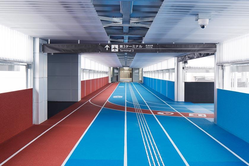 Neobično rešenje terminala: Stazom za trčanje do aviona