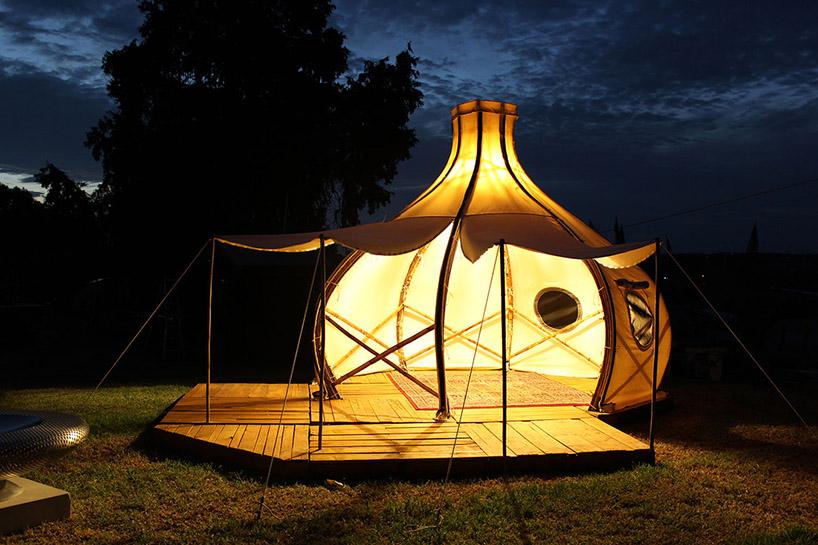 Kampovanje može da bude i glamurozno u jednom ovakvom šatoru