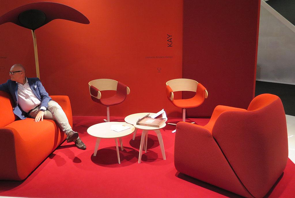 Trendi fotelje sa sajma nameštaja u Milanu