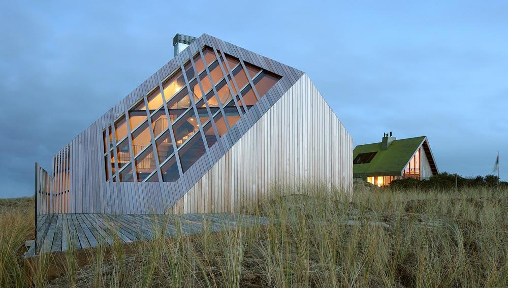 Kuća čije su fasade oblikovale peščane dine