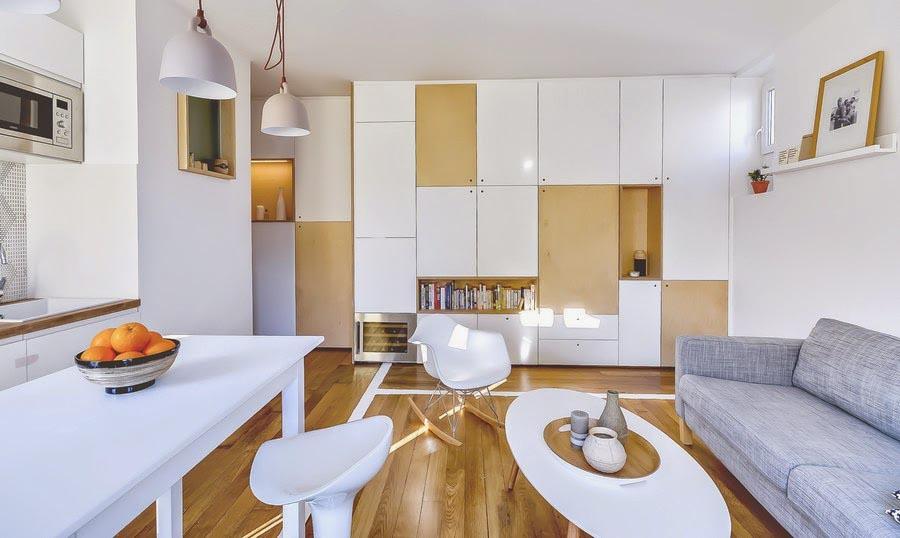 Pariska škola: Šta sve može da stane u stan od 30 kvadrata