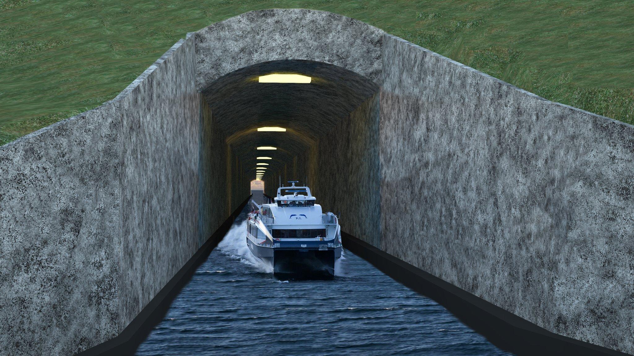 Norveška gradi tunel za brodove dugačak 1,7 km