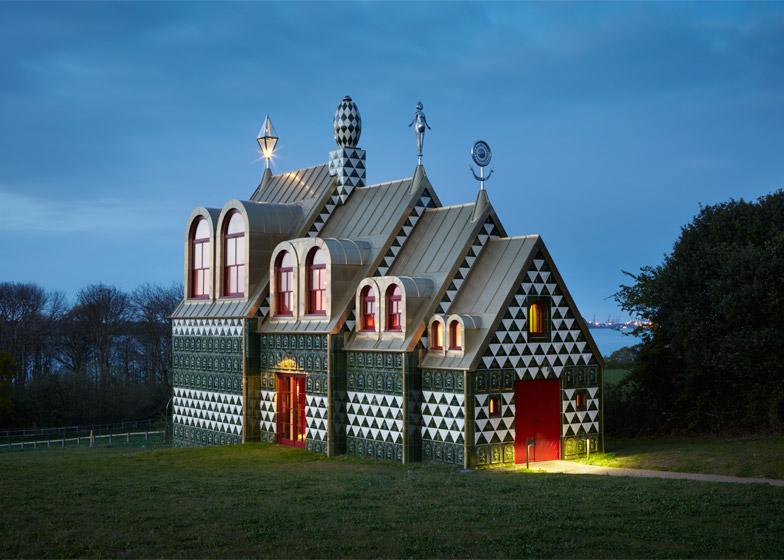 Ekstravagantna kuća iz bajke posvećena imaginarnom liku