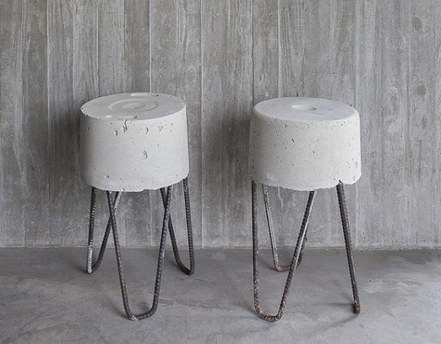 Stolice od recikliranog betona