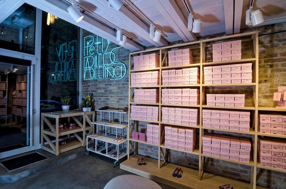Pogledajte enterijer nove prodavnice cipela u Beogradu