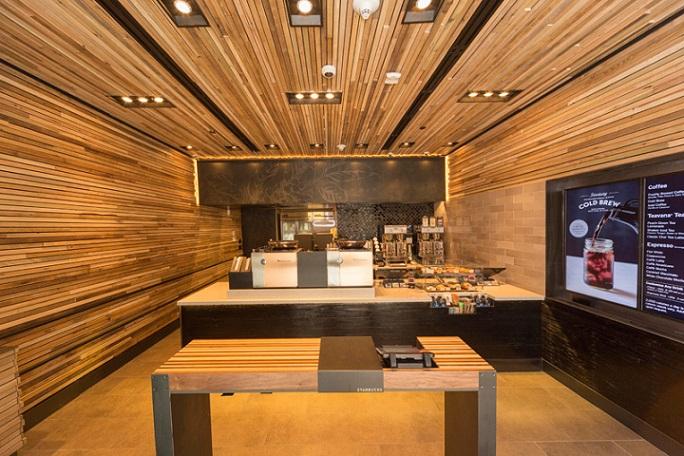 Novi koncept Starbucks kafića za ekspresnu uslugu