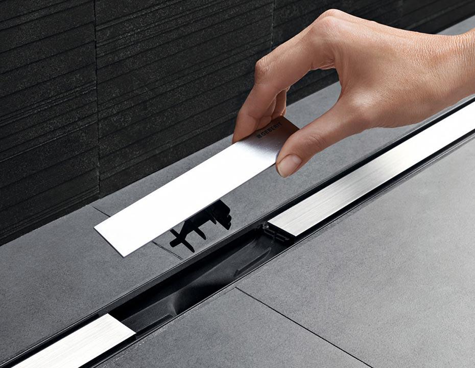 Geberit CleanLine za lakše čišćenje podnog sifona