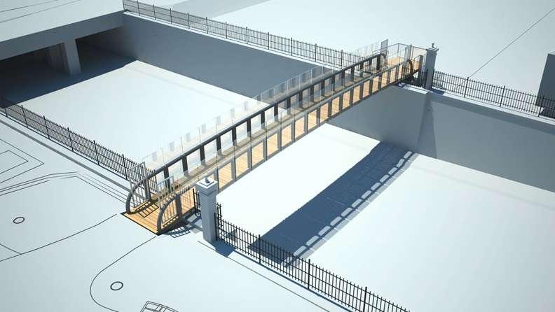 Pogledajte kako izgleda novi pešački most u Zagrebu