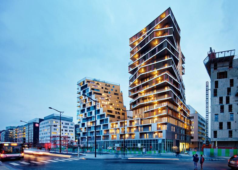 Nova najviša stambena zgrada u Parizu s pozlaćenom fasadom