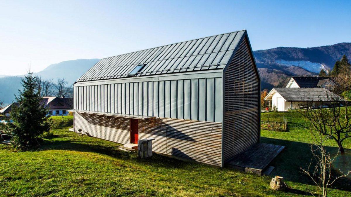 Prosta kuća: Prefabrikovani slovenački dom koji štedi energiju