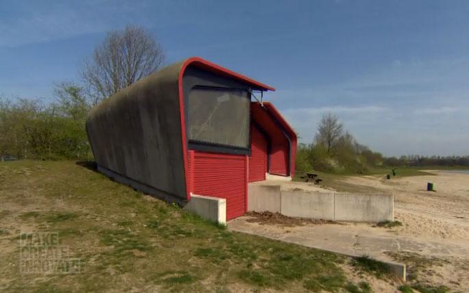 Sagrađen prvi objekat od betona koji sam sanira svoje pukotine