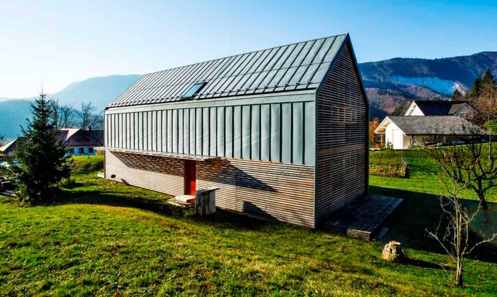 Prefabrikovana slovenačka kuća koja štedi energiju