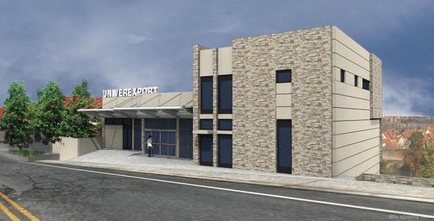 Poslovni objekat Univerexport, Sremska Kamenica; projekat: Tim Inženjering