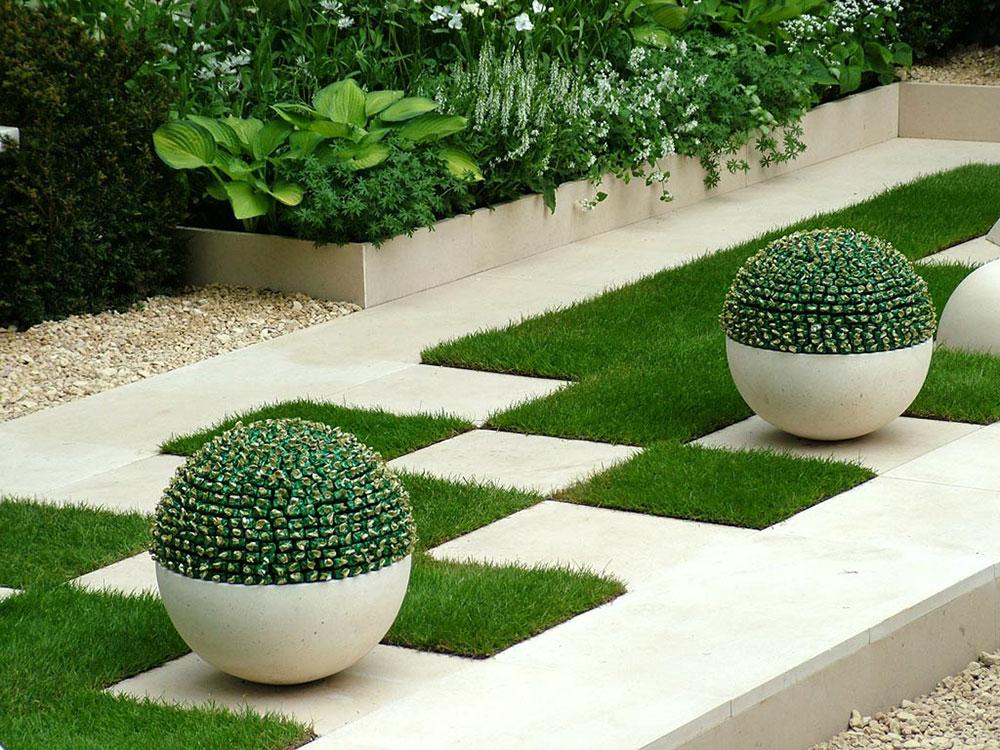 Ukras dvorišta: Upotreba loptastih biljaka u pejzažnoj arhitekturi