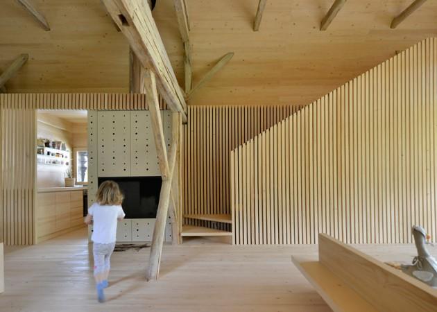Alpine Barn Apartment 04
