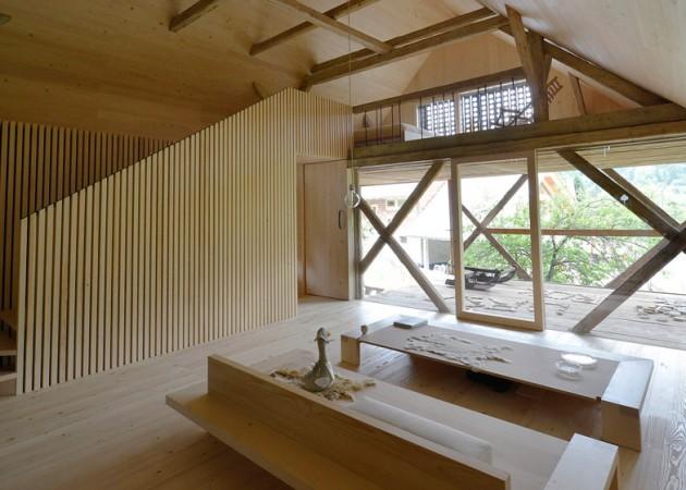 Alpine Barn Apartment 05