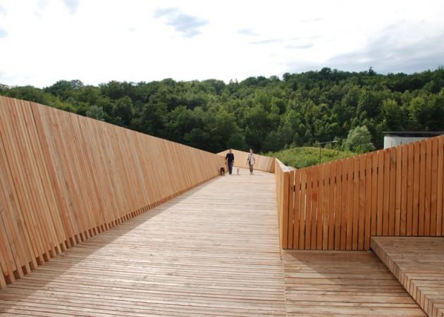 La Sallaz pešački most 01