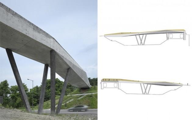 La Sallaz pešački most 03