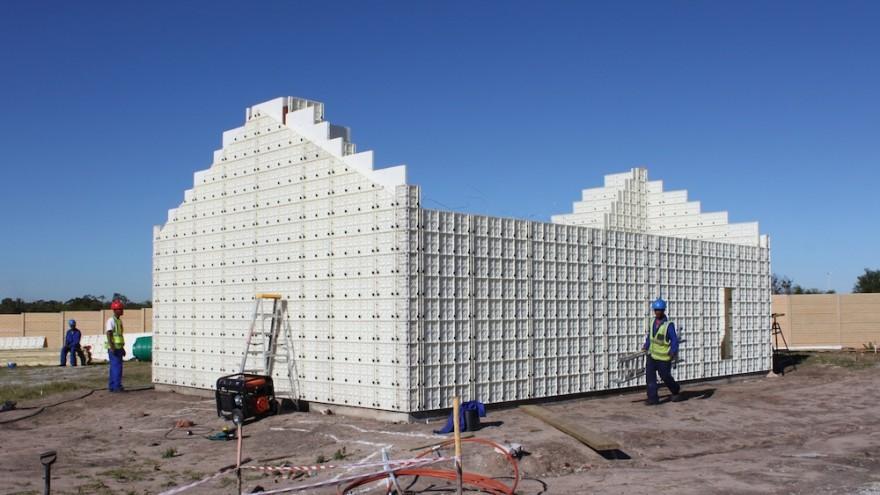 Sistem Moladi: Plastične oplate za podizanje objekta u roku od 24h