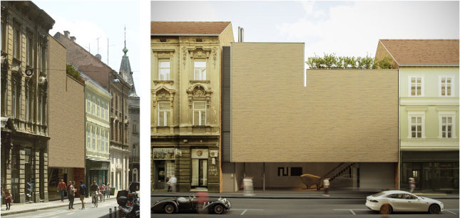 Zgrada portugalskog arhitekte Eduarda Souto de Moure u Zagrebu