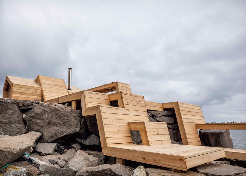 Studenti osmislili saunu koja odaje počast iščezlom ribarskom selu