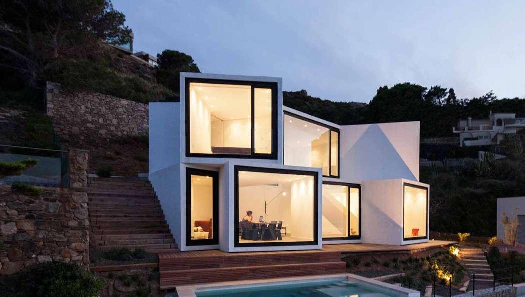 Kuća u kojoj je svaka soba osunčana i ima pogled na more
