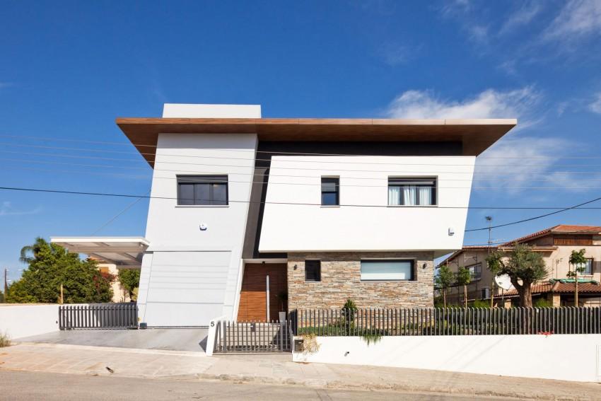 Kuća koja se svojom arhitekturom bori protiv ulične buke