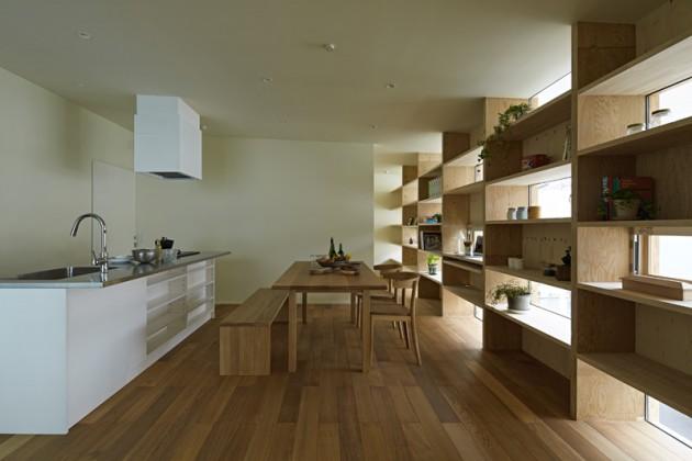 Kuća sa drvenom fasadom 05
