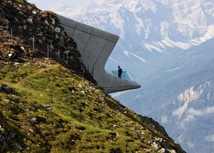Zahin muzej podignut na samom vrhu Alpa